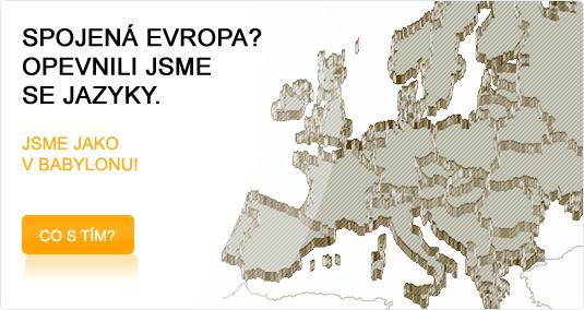 Kdyby neznalost jazyků komplikovala jen nákup párku v rohlíku, bylo by nám hej. Jazyková nekomunikace v EU má závažné ekonomické důsledky, které se dotýkají nás všech. Ekonomové studují i vliv počasí na ekonomiku, ale dopad jazyků na hospodářství Evropy nikoho nezajímá. Jak zhodnotit, co se nám nepodaří? Jak spočítat o co jsme přišli? Je toho zřejmě mnoho. Myslíte, že by se USA mohly stát světovou velmocí, kdyby každý americký stát mluvil vlastním jazykem? Stěží! V EU každý stát prosazuje samolibě svůj jazyk, aby získal maximální výhody. Když ale deku tahá k sobě mnoho lidí zaráz, tak se roztrhne a v mrazivé době globální ekonomiky nakonec nepřežijeme anebo hodně špatně... Evropa má snad dosud stále ještě nejvzdělanější populaci a dlouhodobou tradici v mnoha oborech. Toto bohatství můžeme využít, když budeme účinně spolupracovat a hledat cestu k sobě. Toto lze ale uskutečnit jen když přijmeme mnohem snadnější společný jazyk evropštinu, než jsou dnešní národní jazyky. Jen pak lze předpokládat, že se mnoho lidí mnohem lépe takový společný jazyk naučí a bude ho používat. Evropština nás o vlastní jazyk nepřipraví,spíš naopak. Jazykové a ekonomické souvislosti jsou na těchto stránkách představeny ve zkrácené formě. Přesto je to asi jejich nejrozsáhlejší existující sbírka vůbec… Pomozte nám přitlačit na politiky, aby s tím něco udělali, dokud je ještě čas…